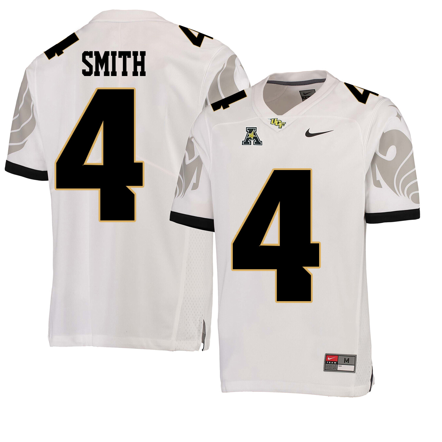 UCF Knights #4 Tre'Quan Smith NCAA College Football Jersey White