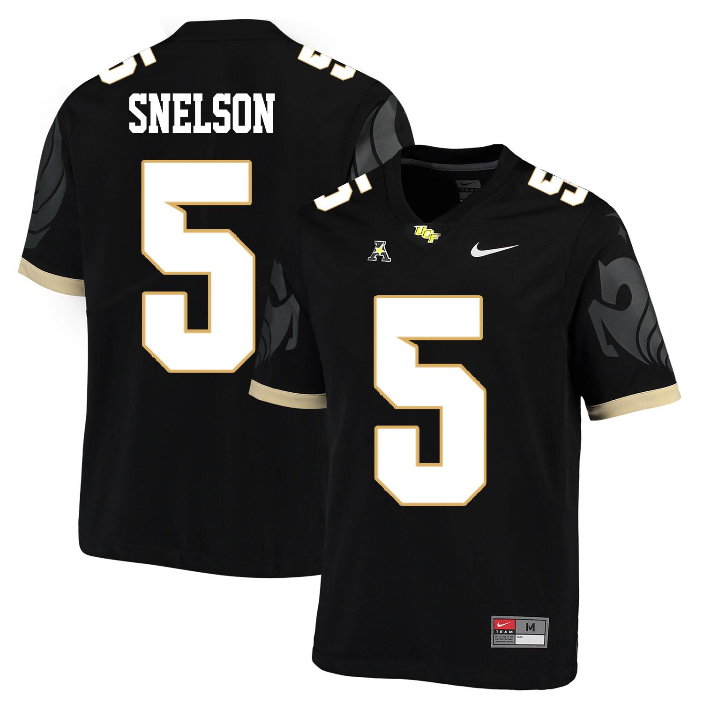 UCF Knights #5 Dredrick Snelson NCAA College Football Jersey Black
