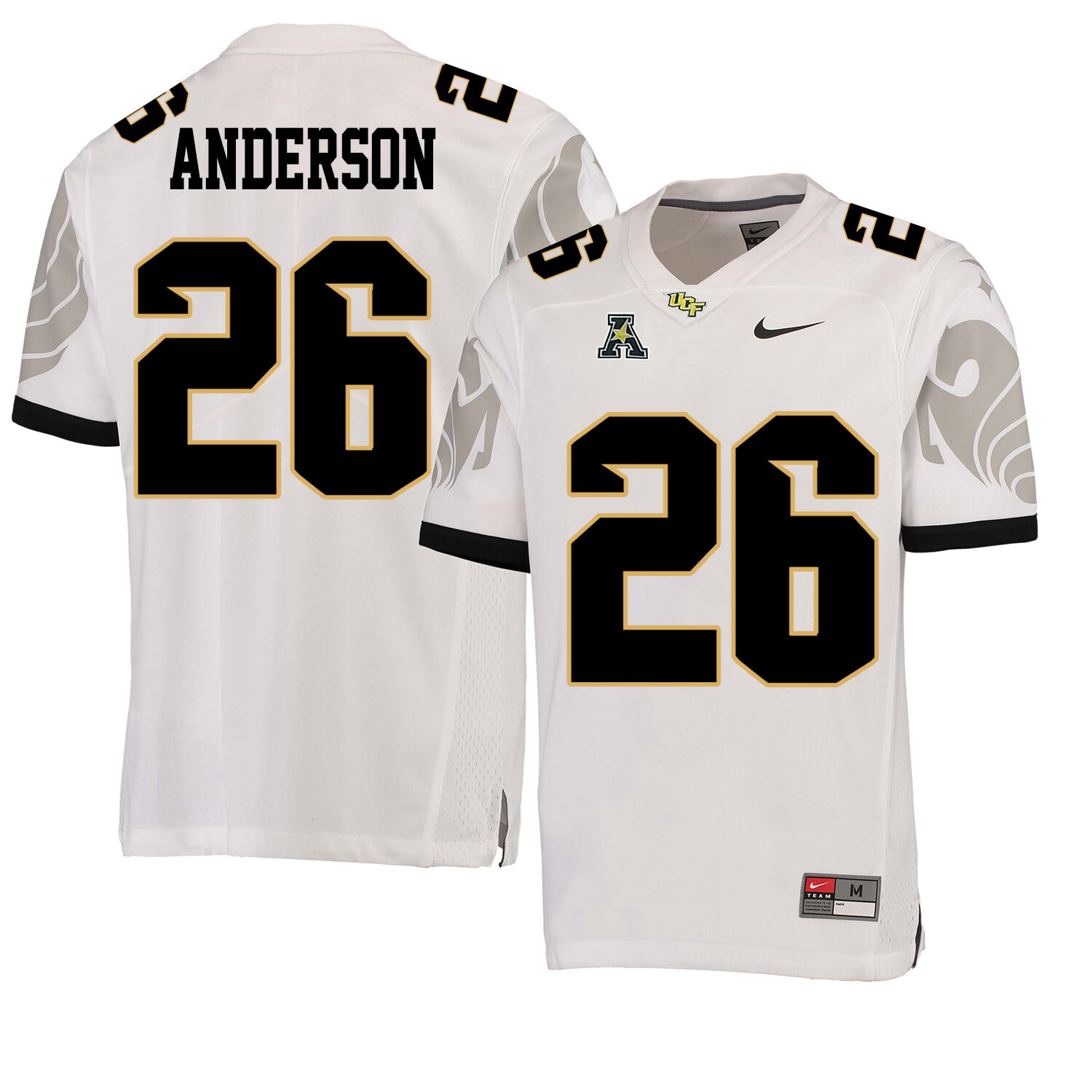 UCF Knights #26 Otis Anderson NCAA College Football Jersey White