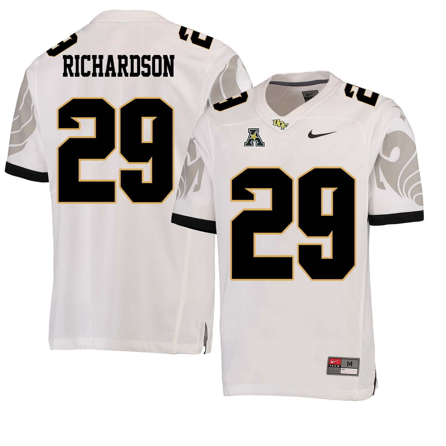 UCF Knights #29 Cordarrian Richardson College Football Jersey White