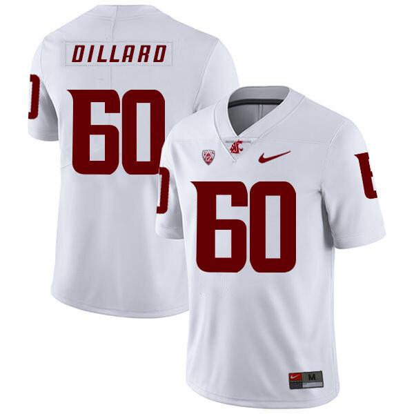 Washington State Cougars #60 Andre Dillard NCAA Football Jersey White