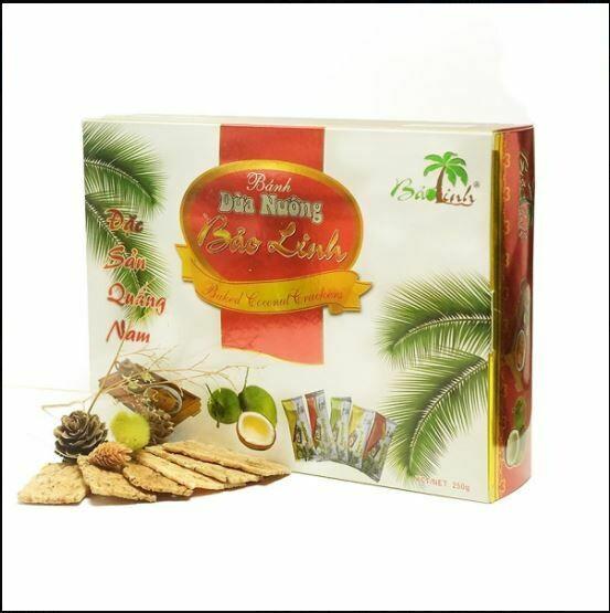 Bánh dừa loại hộp 250g (Hộp)