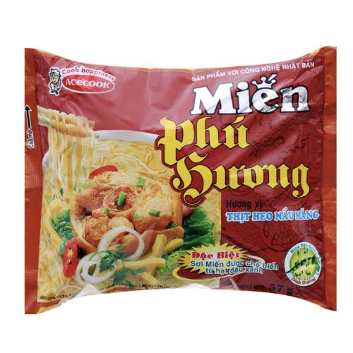 Miến Phú Hương vị lẩu thái tôm - Gói x 58g - Có bán thùng 30 gói | SHOPNOW