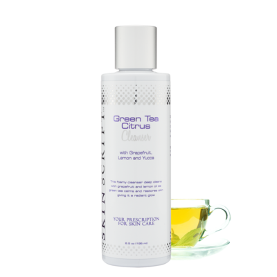 Skin Script Green Tea Citrus Cleanser