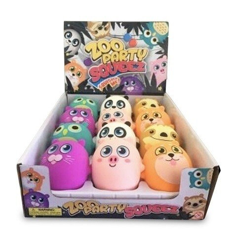 Zoo Party Character Dough Balls