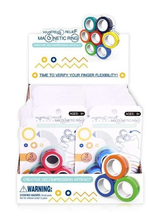 Magnetic Fidget Rings