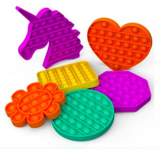 Push Pop Bubble Toys