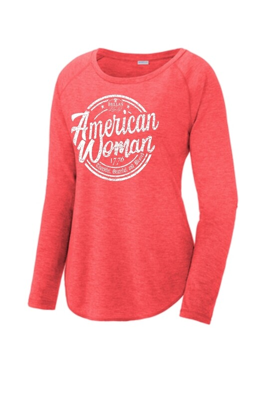 AWR-LST400LS-AMERICAN WOMAN RED