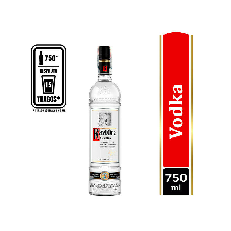 VODKA KETEL ONE 750 ML