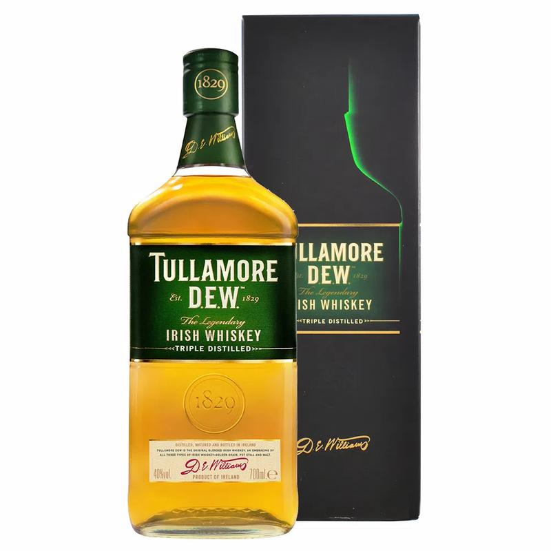 WHISKEY TULLAMORE IRISH 750 ML