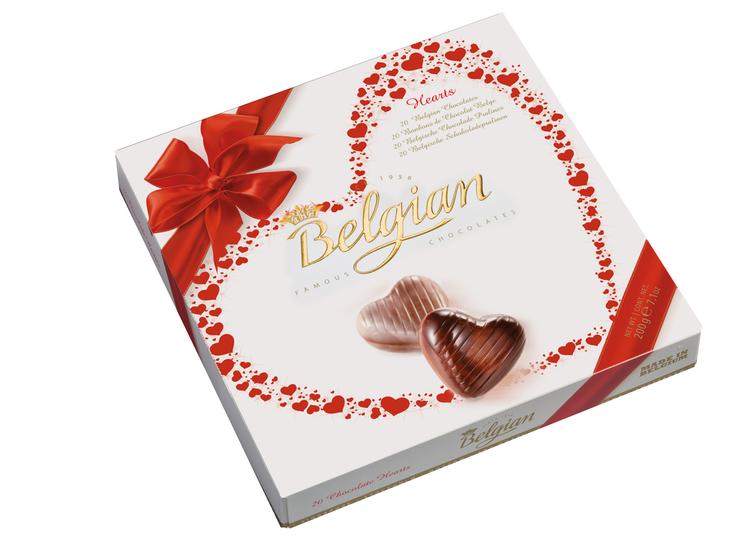 CHOCOLATE BELGIAN CORAZON 200 GR