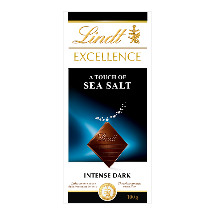 TABLETA LINDT EXCELLENCE SEA SALT 100 GR