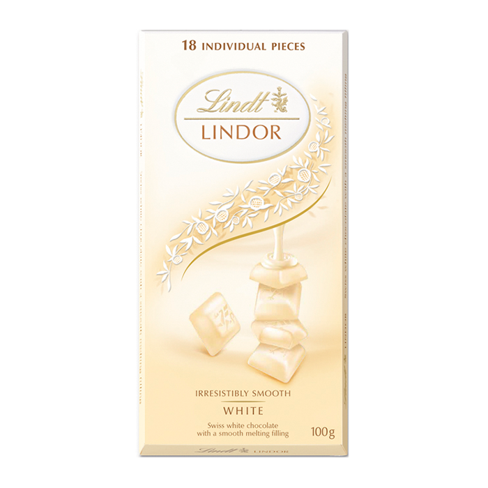 TABLETA LINDOR WHITE 100GR