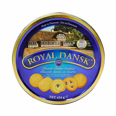 GALLETAS ROYAL DANSK LATA 454 GR