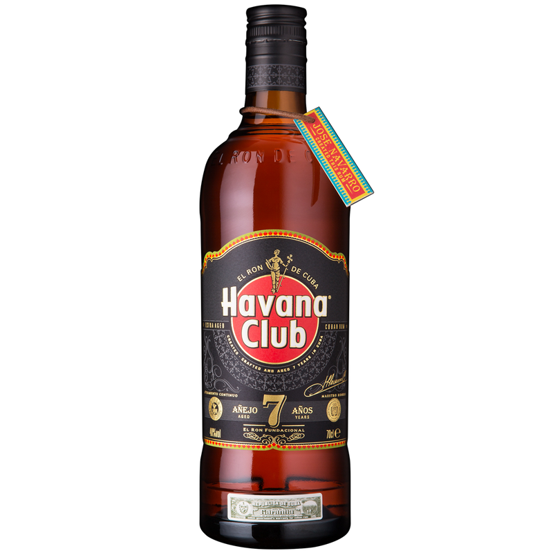 RON HABANA CLUB AÑEJO ESPECIAL 7 AÑOS 750 ML