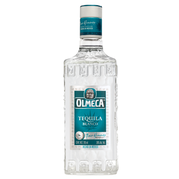 TEQUILA OLMECA BLANCO 700 ML