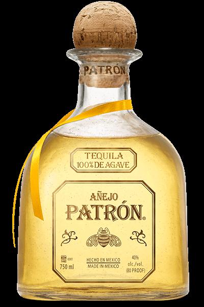 TEQUILA PATRON AÑEJO 750 ML