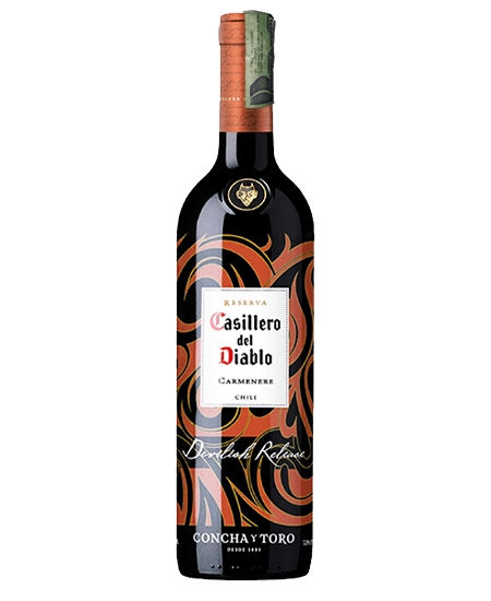 VINO CASILLERO DEL DIABLO DEVILISH 750 ML