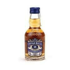 WHISKY CHIVAS 18 AÑOS 50 ML