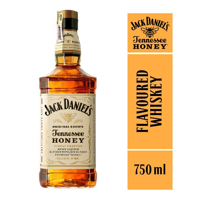 WHISKEY JACK DANIELS HONEY 750 ML