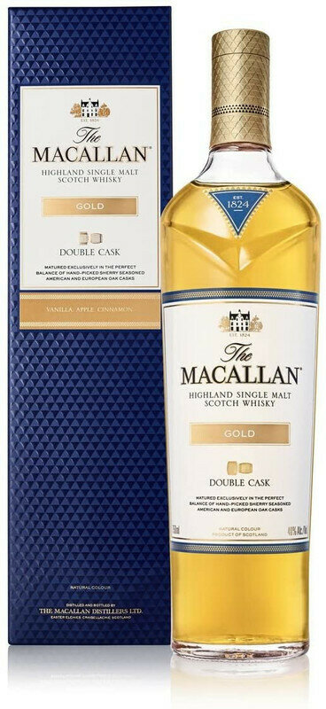 WHISKY MACALLAN  DOUBLE CASK GOLD 700 ML