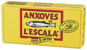 ANCHOAS ANXOVES 30 GR