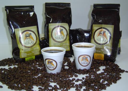 CAFE SIRAJ 500 GR EN GRANO BOLSA CON VALVULA