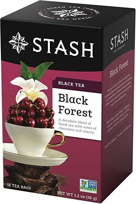 STASH TE NEGRO BLACK FOREST 18 SOBRES
