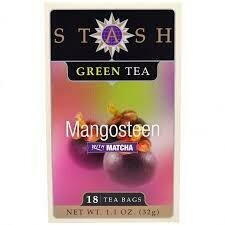 STASH TEA VERDE MANGOSTEEN X 18 SOBRES