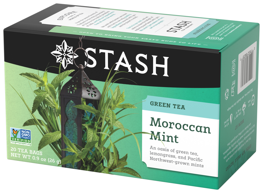 STASH TEA VERDE MOROCCAN MINT X 20 SOBRES