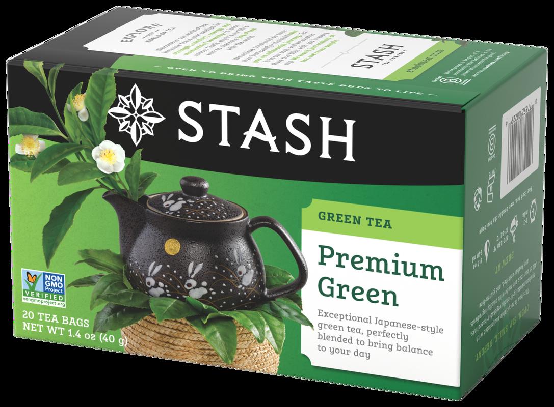 STASH TE VERDE  PREMIUM  GREEN X 20 SOBRES