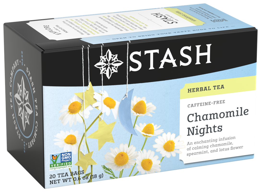 STASH TEA HERBAL CHAMOMILE NIGHTS X 20 SOBRES