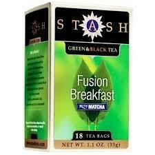 STASH TEA FUSION  BREAKFAST BLEND X 20 SOBRES