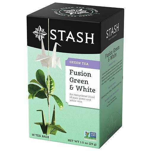 STASH TEA FUSION  GREEN & WHITE X 20 SOBRES