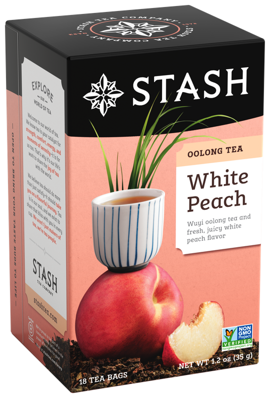 STASH OOLONG TEA WHITE PEACH X 18 SOBRES