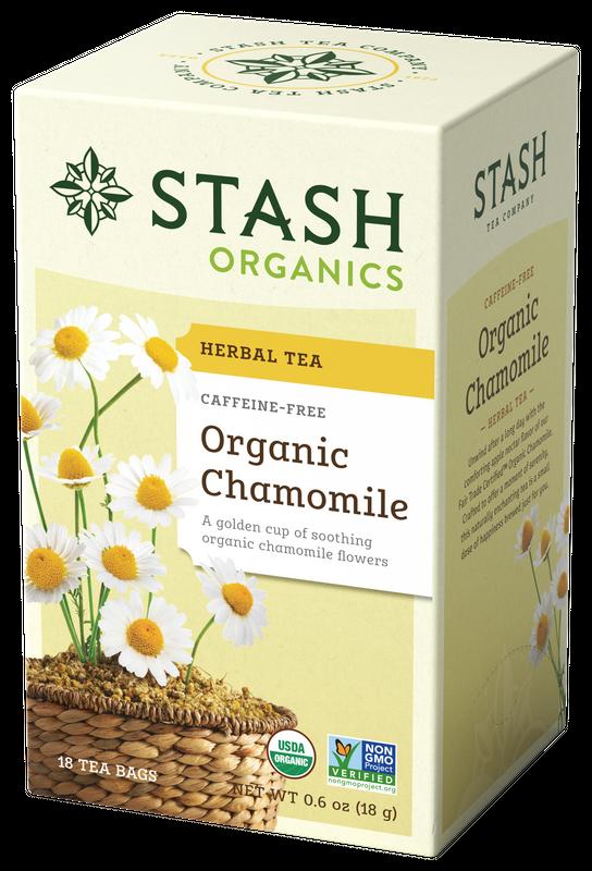 ORGANIC STASH TEA CHAMOMILE X 18 SOBRES