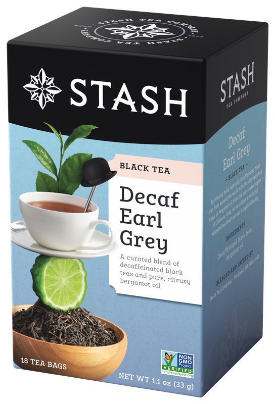 DECAFF STASH TEA  EARL GREY 18