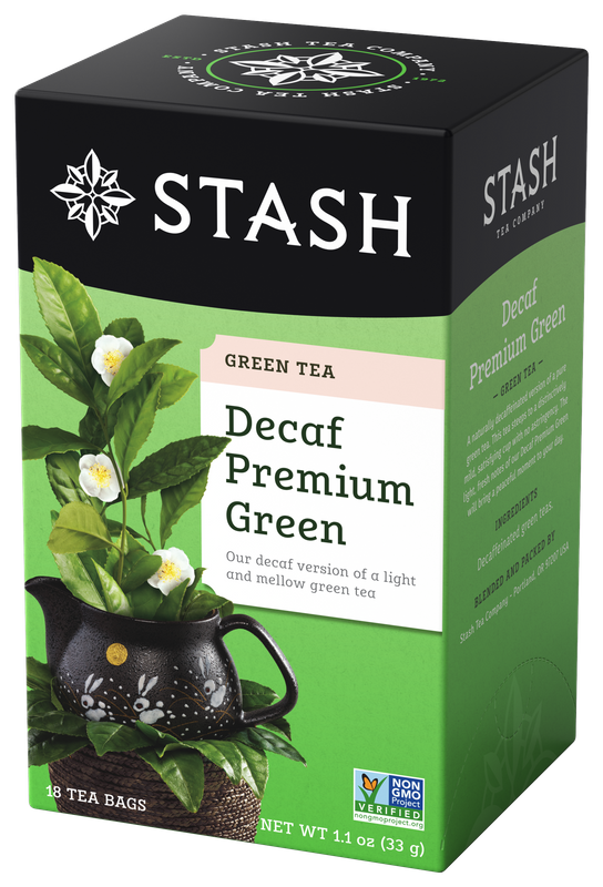 DECAFF STASH PREMIUM .GREEN TEA X 18 SOBRES