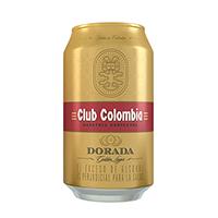CERVEZA  CLUB DORADA LATA