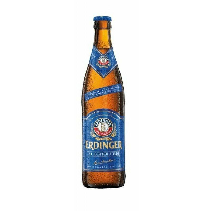 CERVEZA ERDINGER SIN ALCOHOL BOT 500 ML