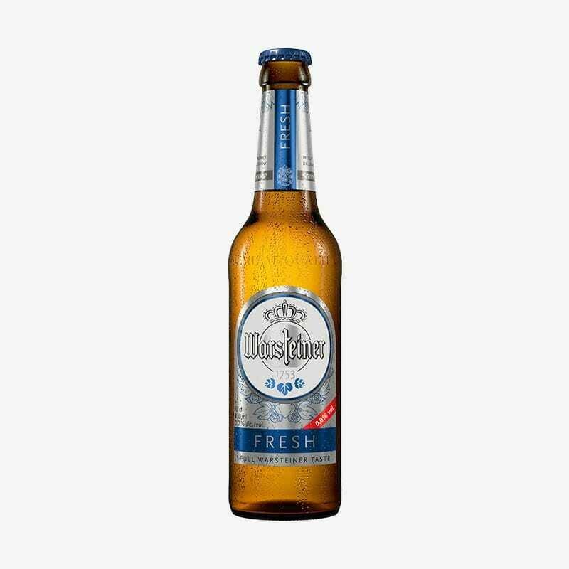 CERVEZA.WARSTEINER SIN ALCOHOL 330 ML