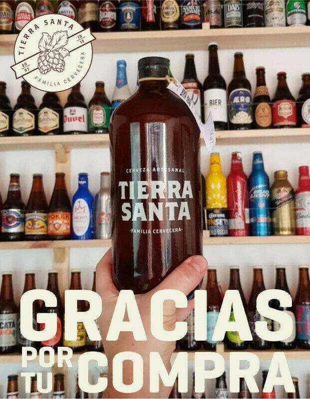 CERVEZA  TIERRA SANTA SAISON 1000 ML