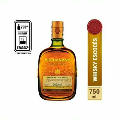 WHISKY BUCHANAN'S MASTER 750 ML