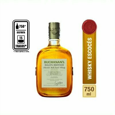 WHISKY BUCHANAN´S MALTS EDITION 750 ML.