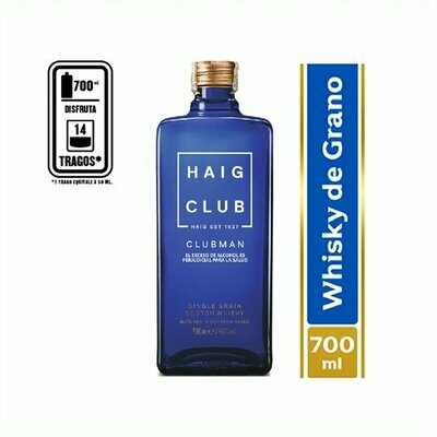 WHISKY HAIG CLUB MAN 700 ML