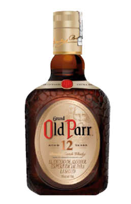 WHISKY OLD PARR 12 ANOS 750 ML
