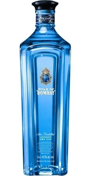 GINEBRA STAR OF BOMBAY  750 ML