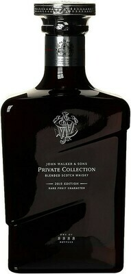 WHISKY JOHN WALKER AND SONS PRIVATE COLLECTION 2015