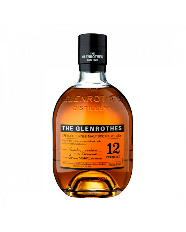 WHISKY GLENROTHES 12 AÑOS 700 ML