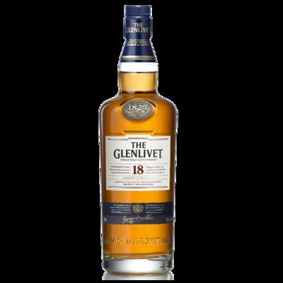 WHISKY GLENLIVET 18 AÑOS 700 ML
